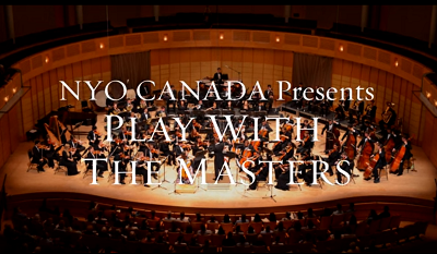 NYO Canada: Play With The Masters